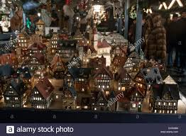 houses ornaments in the traditional german market on the