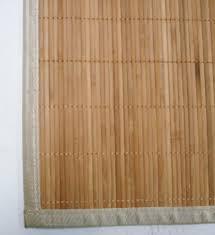 Corner Sink Kitchen Rug Bamboo Natural Antislip Rubber Back Kitchen Doormat Floor Mat Rug