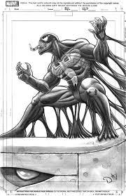 venom sketch by david ocampo on deviantart