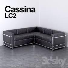 Corner Sofa Cassina Le Corbusier LC MAX BLOCKS Pinterest Le - Corbusier sofas