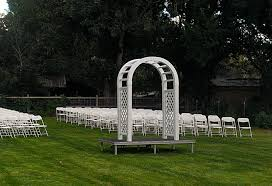 wedding arch rental wedding rentals denver c springs party time rental