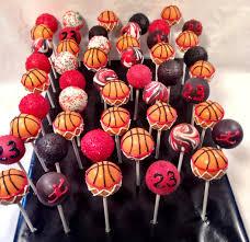 michael jordan themed cake pops by blakers dozen my work