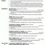 Sample Student Resume by Resume Example Student1gif Student Resume Example