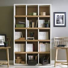 Cream Wood Bookcase Boraam Techny Collection Scully Bookcase U2013 Modish Store