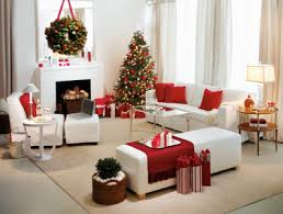 christmas decor in the home red and white christmas home decoration ideas christmas home red