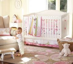 girls nursery room with butterfly nursery bedding set home
