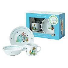 wedgwood rabbit wedgwood boy s rabbit 3 plate bowl and