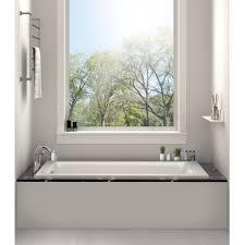 fixtures drop in or alcove bathtub 36 x 72 soaking bathtub
