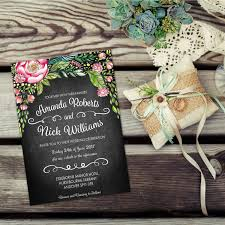 watercolour wedding invitation kits vintage wedding invitation