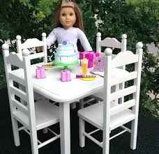 18 inch doll kitchen furniture 18 inch doll kitchen furniture table 4 chair set zoom 4parkar info