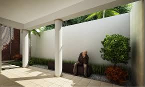 indoor garden design with statue 2959 hostelgarden net