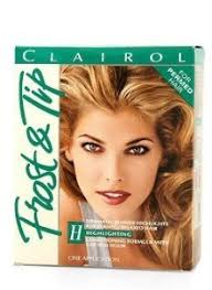 highlights vs frosting of hair amazon com clairol frost and tip for permed hair dramatic blonde