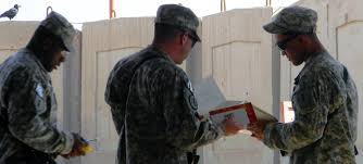 sending cards to soldiers lights decoration
