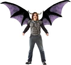 Halloween Costume Wings Deluxe Beast Wings Chest Piece Costume Kit Halloween