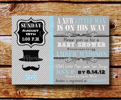 create little man baby shower invitations ideas invitations