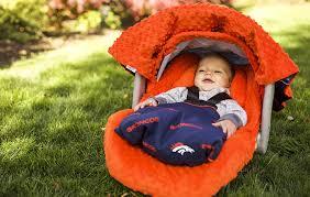 Car Seat Canopy Amazon by Amazon Com Nfl Denver Broncos The Whole Caboodle 5pc Set Baby