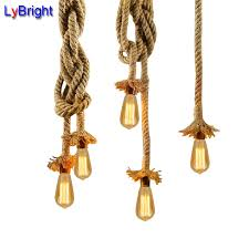 vintage pendant light lamp ac 90 260v loft creative