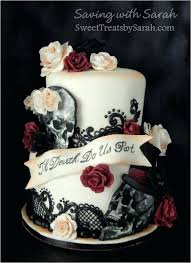 skull wedding cake toppers skull cake decorations best wedding cakes ideas on with skulls