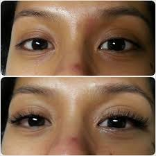 At Home Eyelash Extensions Naturally Noticeable Lash Extensions On Asian Hooded Monolid