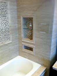 tile around tub bullnose mosaic and larger tile bubble bath