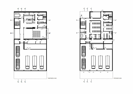 Fire Station Floor Plans Gallery Of Fire Station Russelsheim Bauschheim Syra Schoyerer