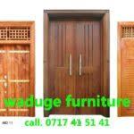 door design in wood in sri lanka waduge furniture blessed door