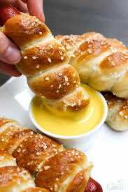 honey mustard pretzel dip honey mustard dipping sauce pretzel dogs recipe honey mustard