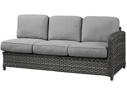 Zing Patio Furniture by Beachcraft Outdoor Patio Lorca Collection Lorca Sectional Zing