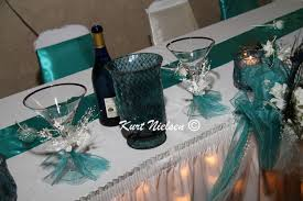 teal wedding decorations new ideas teal wedding decorations with pretty centerpieces