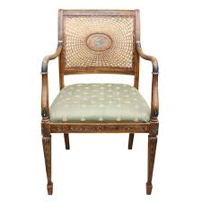 Refinishing Cane Back Chairs Hand Painted Cane Back Chair U2013 House Of Presley