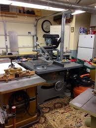 Oliver Table Saw by Woodworking Workshop Eric J Commarato