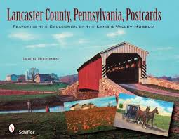 lancaster county pennsylvania postcards featuring the