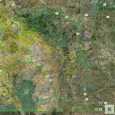 Wyoming Wildfires Map Wyoming Hunt Area 7 Black Bear