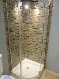 Onyx Shower Base Prosto 36 X 36 Round Shower Enclosure Kit With Hinged Doors And