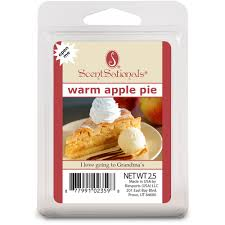 Home Interiors Candles Baked Apple Pie by Scentsationals Wax Cubes Warm Apple Pie Walmart Com