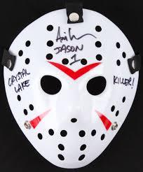 jason mask halloween online sports memorabilia auction pristine auction