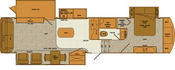 class a rv floor plans with bunk beds u2013 gurus floor