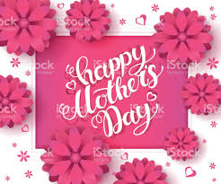 Mother S Day Greeting Card Handmade Mothers Day Greeting Poster Design With Spring Flowers And Frame