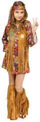 Halloween Hippie Costumes Girls U0027 Peace Love Hippie Costume Candy Apple Costumes