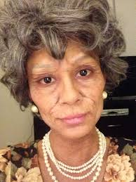 theatrical halloween makeup old lady costume old age makeup and special effects with liquid