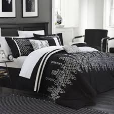 Black And White Queen Bed Set Buy Embroidery Bedding Sets From Bed Bath U0026 Beyond