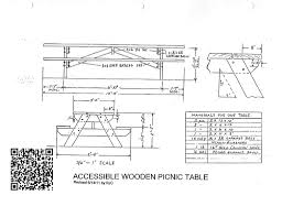 marvelous large picnic table plans 22 with additional amazing