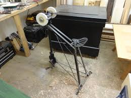 pedal powered grinder