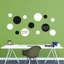 U0026 Dry Erase Message Dots Wall Decal Shop Fathead
