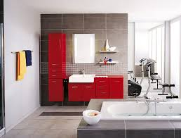 Yellow And Gray Bathrooms - red and gray bathroom cabinet colors pictures bathroom decor