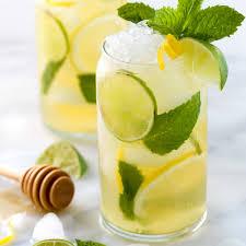 lime naturally sweetened iced green tea recipe jessica gavin
