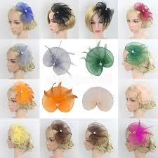 1920 hair accessories vintage feather fascinator net headdress 1920s great gatsby