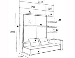 the atoll 000 sofa wall bed unit