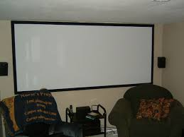 home theater projector screen on a budget 8 steps with pictures