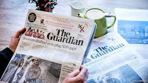 the guardian heads back into the black a media makeover